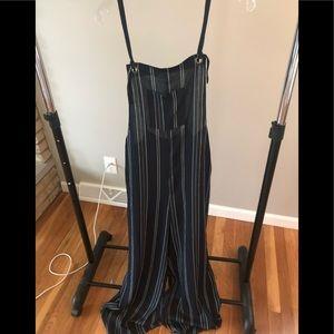 Medium Striped Overalls